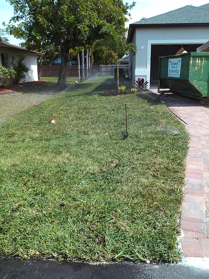 New Sod Pillar Lawn Care
